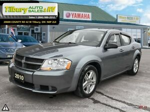2010 Dodge Avenger SE *Low KMs, SiriusXM, AUX*