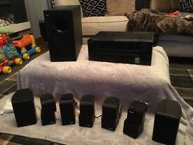 Bose Onkyo 7 .1 home Cinema surround system.