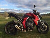 Honda CB1000R, reg 2010, lovely bike, low miles, sounds great!