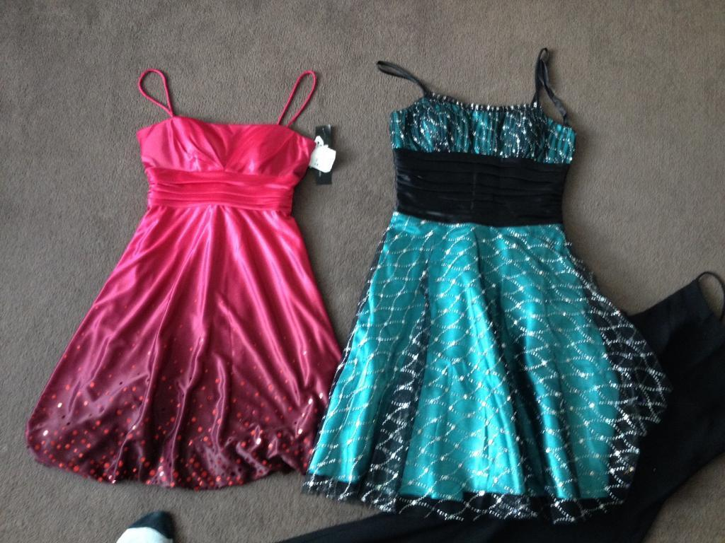 3 evening dresses ex con size 810 for all 3 barginin Bournemouth, DorsetGumtree - 3 evening dresses ex con size 8 green and blacks dress worn once, red dress new with tags collection southbourne. Lots of stuff listed massive clear out please have a look