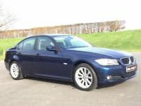 BMW 3 SERIES 2.0 318I SE BUSINESS EDITION 4d 141 BHP FULL BLACK HEATED LEATHER, FSH (blue) 2010
