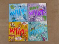 The book of Why?, What?, Where? and How?