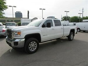 2015 GMC Sierra 3500HD Crewcab 4x4 diesel long box SLE loaded