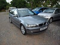 2004 BMW 318i ES TOURING-AUTO-127K MILES-SELLING AS SPARES REPAIR