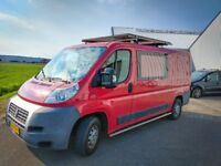 Solar Powered Campervan, 51k Miles- Fiat Ducato 2.3 Diesel 2008 [Dutch Vehicle/Left Hand Drive]
