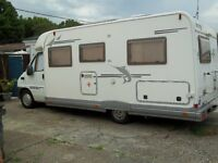 Elnagh fixed bed Motorhome