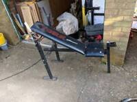 York adjustable weight bench - flat/incline