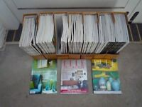 Extensive Collection of Elle Decoration Magazines - Collectable