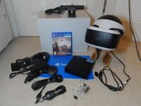 Sony PlayStation 4 PS VR Headset + PS4 Camera + Farpoint Game
