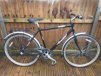 Ammaco Cosmopolitan Mens Hybrid Bike