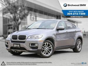 2014 BMW X6 Xdrive35i Executive, Premium, Technology!