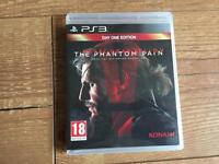 Metal gear solid V The Phantom pain PlayStation 3 game