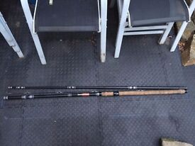 "FLOAT FISHING CARP ROD - DAM Black Carp Rod 4.2m 3 Piece Coarse Fishing Rod ""Black Carp"" Waggler"