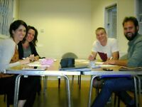 Spanish, Italian, French, Brazilian-Portuguese and German courses. Start 16 April.