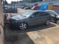 Audi A3 spares or repair 3.2 Quattro