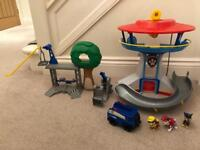 Paw Patrol Lookout Tower & Rescue Centre