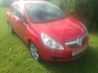VX CORSA D STUNNING RED ,3 DOOR ,1 LTR ,