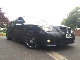 BMW 535D M Sport AUTO * BIG SPEC* Beige Interior, Mint Cond, FSH, SAT NAV,XENONS,MEDIA PACK