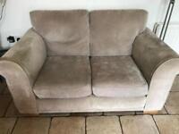 Grey 2 seater sofa