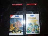 Sega master system games bundle
