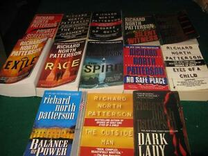Richard north patterson books $1 each or $10 for the lot St. John's Newfoundland image 1
