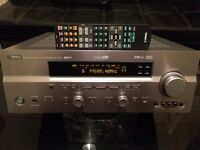 YAMAHA RX-V650 HOME CINEMA RECEIVER, FULLY TESTED IN EXCELLENT WORKING CONDITION, SCRATCH LESS.