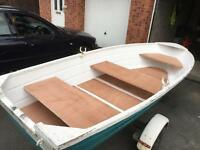 14 foot alloy dinghy