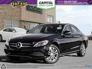 2015 Mercedes-Benz C-Class Panoramic Sunroof * Leather *