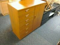 Chest of drawers with cupboard #32654 £35