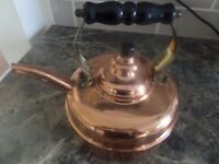Simplex Whistling English Copper Kettle