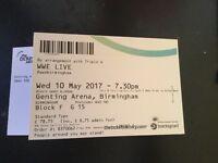 WWE tickets Birmingham may 10th
