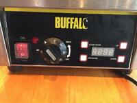 Buffalo commercial, 2 plate waffle maker. Used but excellent condition.
