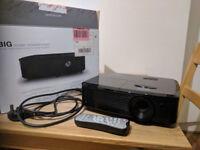 Optoma HD142X projector, full HD 1080p 1924x1080 native resolution,