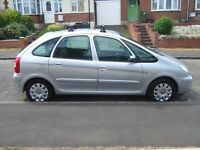 2007 CITREON XSARA PICASSO 1.6 VTX SILVER,MOT APRIL 2018 F/S/HISTORY & INVOICES