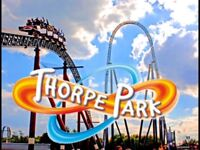Thorpe park - tickets valid to 30 September 2018