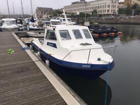 Icelander 18ft fishing boat