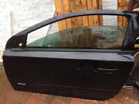 Vauxhall Astra 3dr 2005-2010 Door balck
