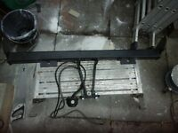 Tow bar, complete with double electrics and tow ball