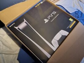 Playstation 5 Digital Console - Brand New PS5
