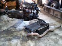 Ford Transit 2004 90 T350 2.4L Diesel Engine & Gearbox