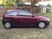 2003 (03) vauxhall Corsa 1.2 Manual 3Doors With 12 Month MOT PX Welcome