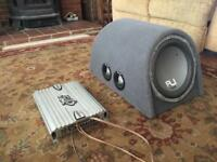 Fli twin 12 subwoofer with heritage amolifier