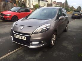 2012/62 Renault Scenic 1.5 dCi (110hp) Dynamique Tom Tom