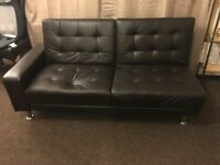 Sofa Bed with built in speakers and aux connection