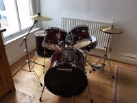 Pearl Tornado Wine Red Drumkit- Excellent Condition