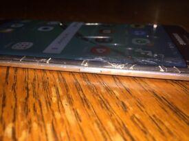 Samsung S6 Edge with Broken Screen - Read Description