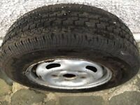 Ford Transit Wheel and Brand New Event Tyre 195 70R 15C
