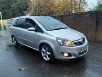 2008 Vauxhall Zafira 1.8 SRI 7 Seater FSH 12M MOT! Drives Superb!