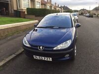 Peugeot 206 2003 50,000miles - full service history, recent full MOT and Road Tax
