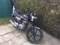 2013 lexmoto arrow 125cc 12 months mot